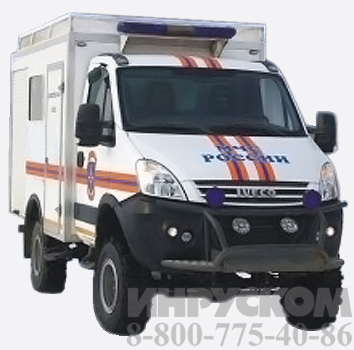 Машина разминирования МЧС - Iveco Daily